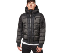 Whitler quilted Winterjacke grau
