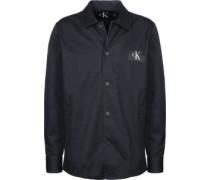 Wearal Reg Fit Langarmhemd blau