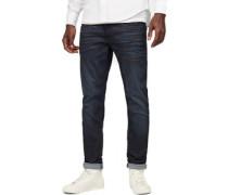 3301 Deconstructed Slim Jeans Herren blau