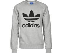 Trefoil Crew Sweater grau meliert grau meliert