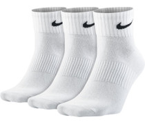Lightweight Quarter Socken weiß