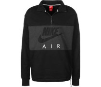 Air Sweater schwarz grau meliert