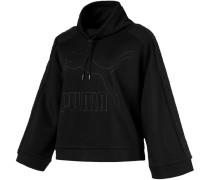Downtown Winterized Crew Damen Sweater schwarz