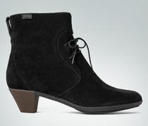 Schuhe Stiefelette aus Veloursleder