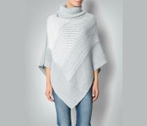 Pullover Poncho mit Reißverschluss