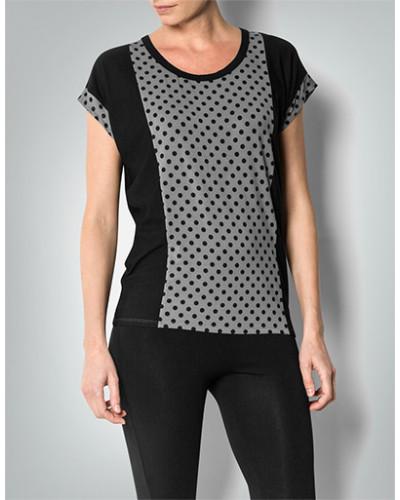 Pyjama-Shirt im Punkte-Dessin