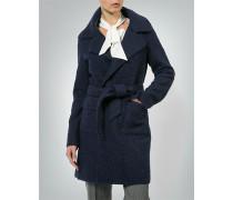 Mantel im Curly Wool-Look