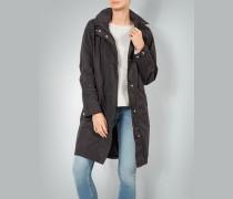 Mantel mit Regenkapuze