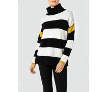 Pullover im Streifen-Dessin