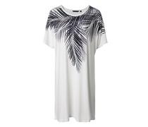 Lounge-Kleid mit Palmen-Print