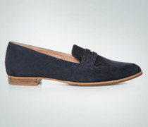 Schuhe Loafer aus Veloursleder