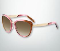 Brille Sonnenbrille in Schmetterlingsform