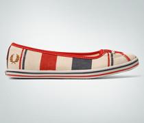 Schuhe Ballerina im maritimen Look