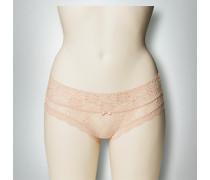 Wäsche Bikini Slip aus floraler Spitze