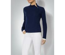 Pullover mit Kontrastabschluss