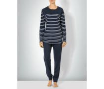 Nachtwäsche Pyjama im maritimen Look