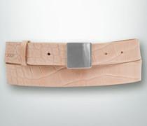 Gürtel Gürtel mit Kroko-Prägung