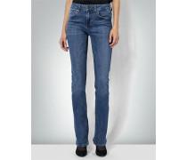 Jeans mit leicht ausgestellter Fußweite