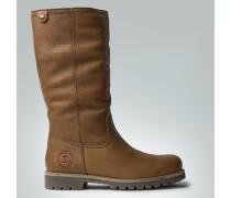 Schuhe Stiefel mit Lammfell-Schaft