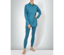 Nachtwäsche Pyjama mit Alloverdessin
