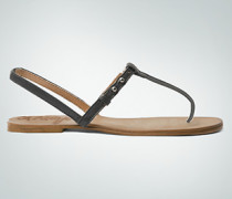 Schuhe Zehensandale aus Leder