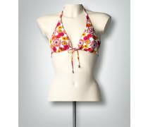 Bademode Bikini-Oberteil mit floralem Print