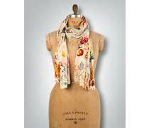 Schal mit Blumenmuster in Aquarell-Optik