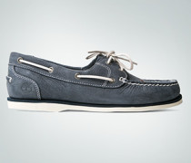 Schuhe Mokassin aus Nubukleder