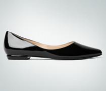 Schuhe Ballerinas aus Lackleder