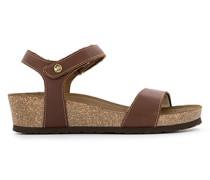 Schuhe Keilsandalen mit Korkabsatz