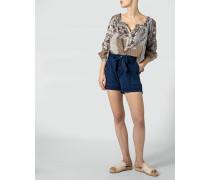 Hose Shorts im verspielten Look