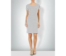 Jerseykleid mit Diagonalstreifen