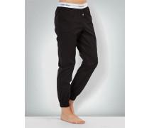 Pyjama-Hose mit Logo-Bund