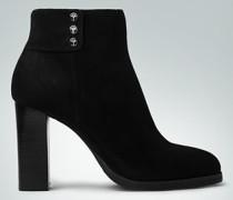 Schuhe Stiefeletten aus Veloursleder