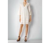Kleid mit breiter Borte
