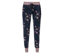 Nachtwäsche Pants mit Blumenmuster