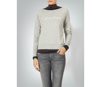 Sweatshirt mit Labelprint