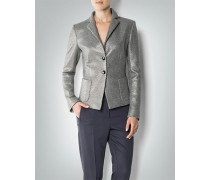 Blazer im Metallic-Look