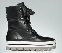 Schuhe Boots mit Plateau-Sohle