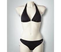 Bademode Neckholder-Bikini mit Schleifen-Details