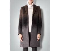 Mantel aus Suri-Alpaka im Degradée-Look