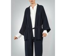 Jacke Kimono in Matt-Glanz-Optik