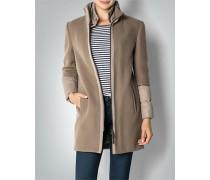 Mantel mit Daunendetails