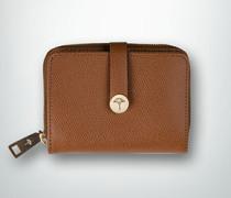 Geldbörse aus geprägtem Leder