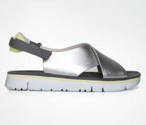 Schuhe Sandalen mit breiten Lederriemen