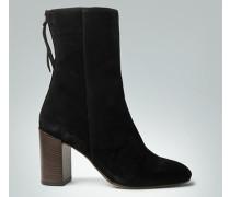 Schuhe Stiefelette mit Blockabsatz