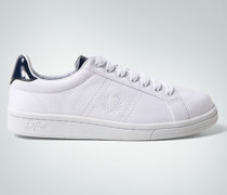 Schuhe Sneaker aus Canvas mit Lackdetails