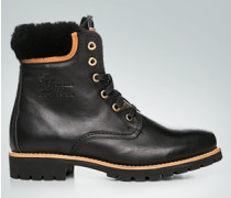 Schuhe Booties mit Lammfell