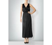 Kleid aus Seide in Wickeloptik