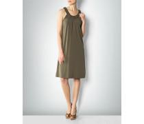 Jersey-Kleid mit Zierborte